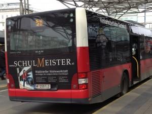 Buswerbung Wien